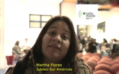 Hacia la Jornada Continental 2016 – Martha Flores, Jubileo Sur
