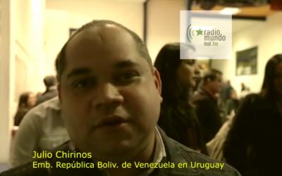 Hacia la Jornada #4N: Julio Chirino, embajador de Venezuela en Uruguay