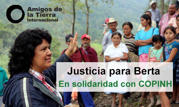 A un año de la siembra de Berta Cáceres, los pueblos del mundo exigen justicia