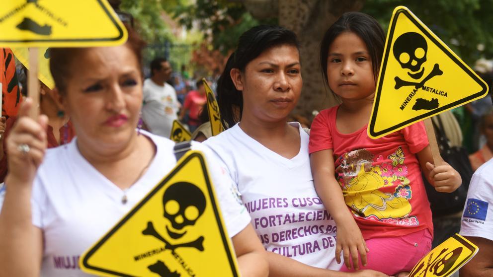 El Salvador libre de minería metálica