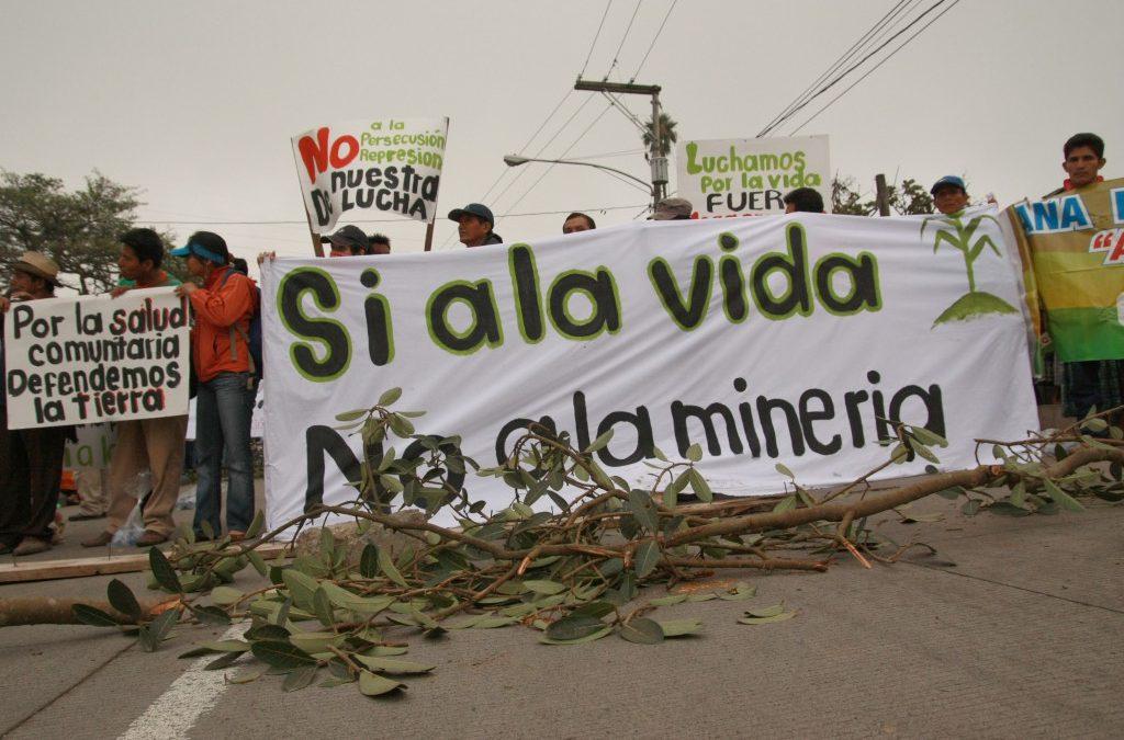 MOVIAC celebra acuerdo preliminar para la prohibición de la minería metálica en El Salvador
