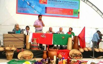 Jornada Continental por la Democracia se revitaliza en Asamblea de CLOC-VC