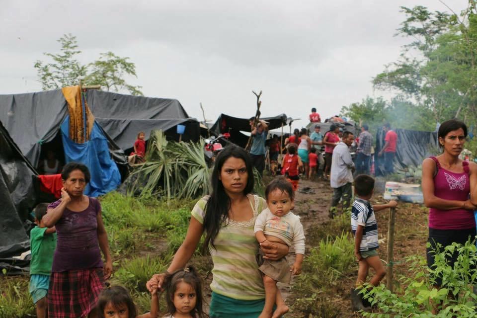Denunciamos el desplazamiento forzado de las comunidades de la región del Petén en Guatemala