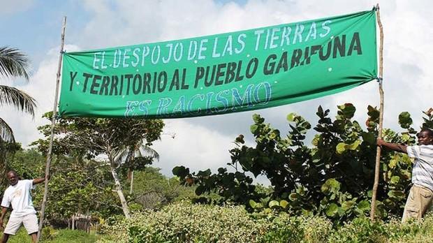 En solidaridad con OFRANEH y las/os luchadores sociales en Honduras