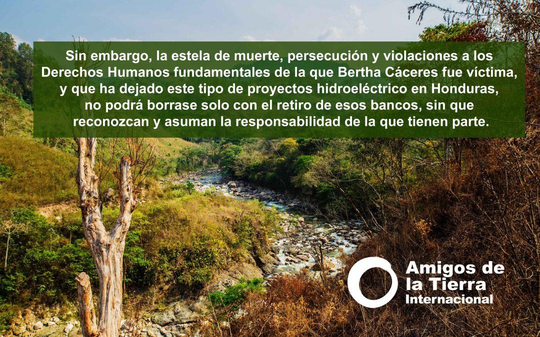 Siguen reclamando justicia en Honduras mientras los bancos FMO y Finn Fund se retiran del asesino proyecto Agua Zarca.