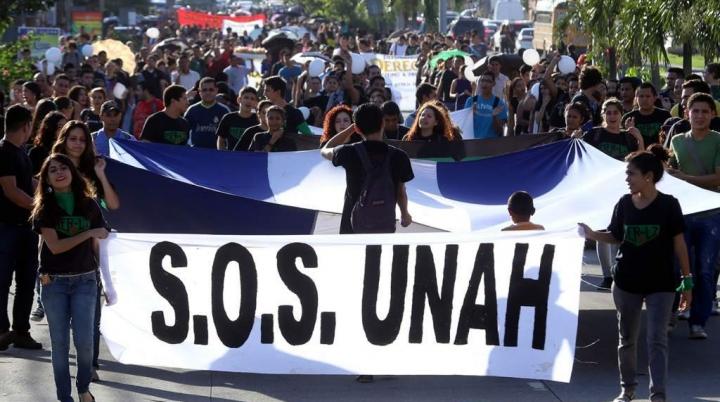 En repudio a judicialización de Yunior Oyuela y las/os estudiantes en Honduras