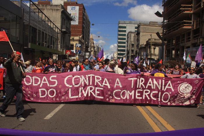 Marcha por la unidad de los pueblos