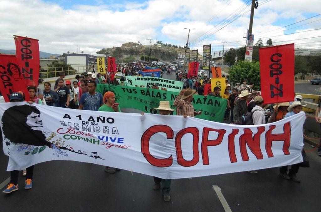 Rechazo al hostigamiento a Berta Zúñiga Cáceres y al COPINH
