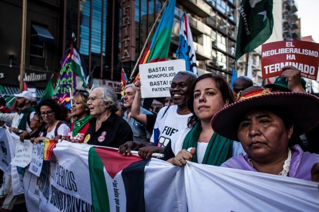 Contra la OMC: construcción de soberanía