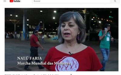 Conflicto capital-vida | Con Nalú Faría, desde el Foro Alternativo Mundial del Agua