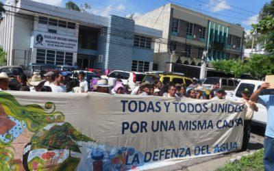 En solidaridad con El Salvador por una la Ley Integral del Agua democrática y justa