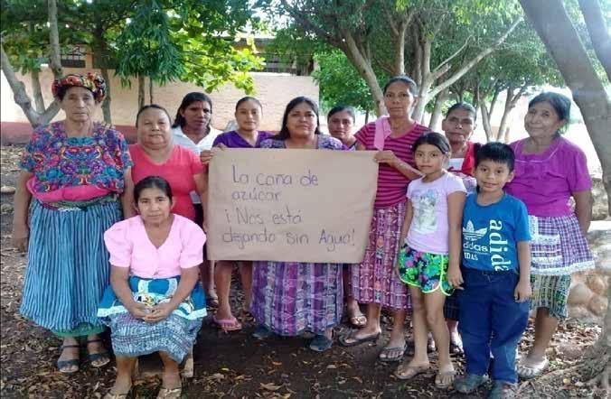 Mujeres defendiendo la vida y los bienes naturales: casos de América Central.
