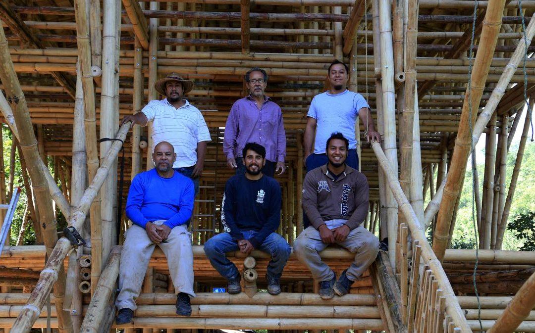 Las ecotecnologías del Centro Alter Natos: El bambú, una alternativa a la madera