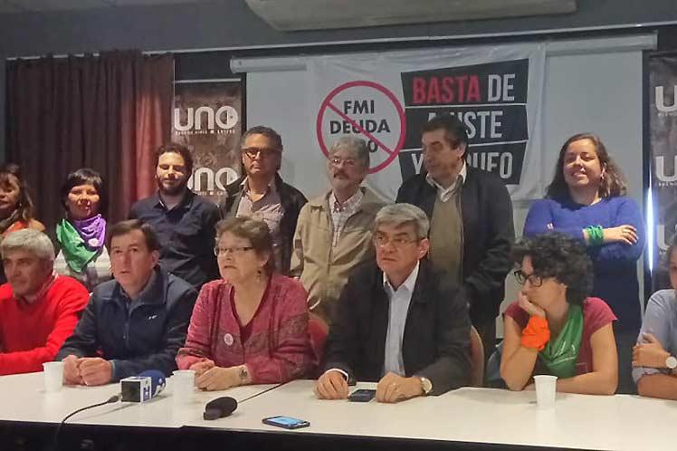 Llamamiento internacional a Movilizarnos frente al G20 y el FMI