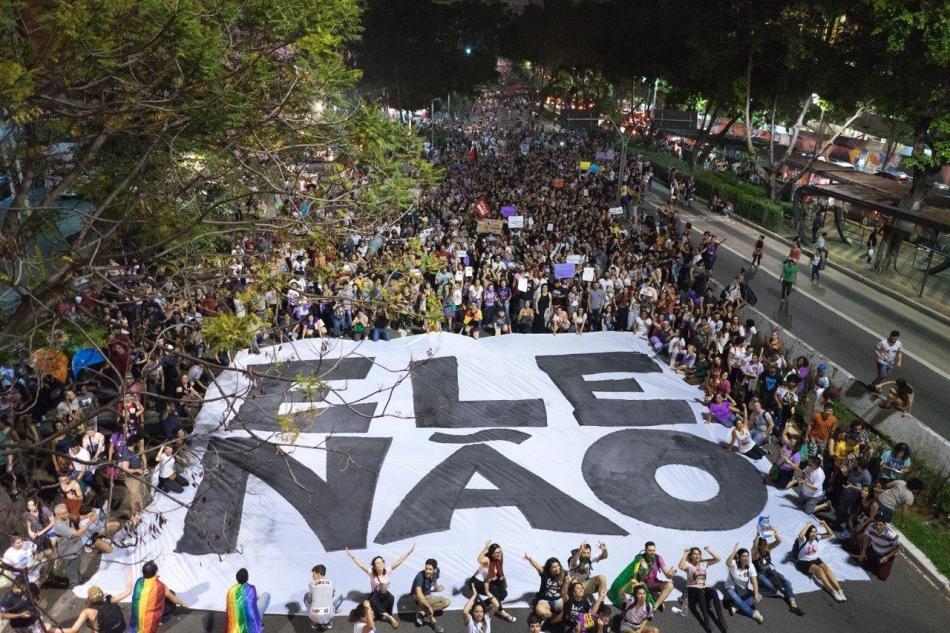 Repudio a la violencia en Brasil