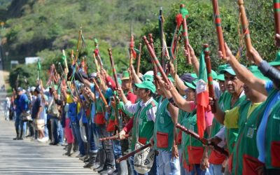 Solidaridad con la Minga por la Vida y el movimiento indígena en Colombia